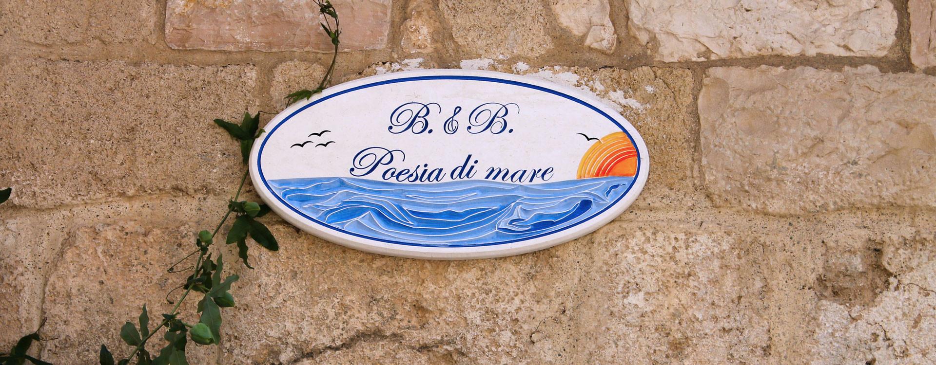 B&B Poesia di Mare – Polignano a Mare